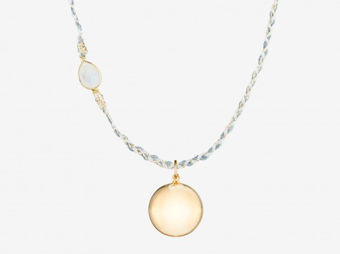 MAYA Pregnancy Necklace yellow gold