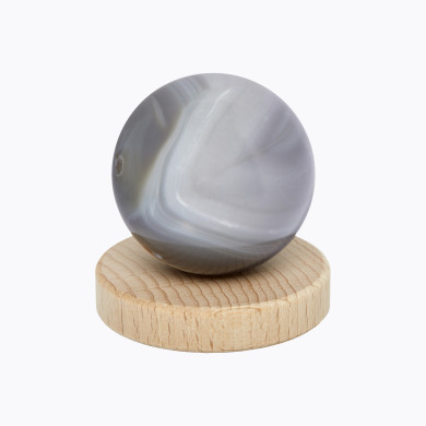 Sphère Agate Blanche