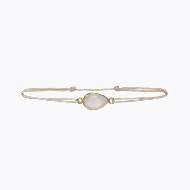 LOVE Bracelet - Rose Quartz