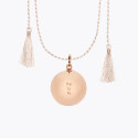 Customizable Pregnancy Necklace on Cord
